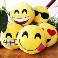 Wholesale cm kawaii korea emoji QQ expression plush pillow cute plush toys for children birthday gift