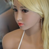 Wholesale full silicone sex doll cm realistic love doll for men big breast and ass real pussy and anal metal skeleton can standing