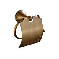 antique paper dispenser - European new designed Antique bronze Finished toilet paper dispenser Tissue paper Holder for the home