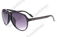Wholesale color Outdoor goggle brand designer Eyewear Italy round Sunglasses Men women shade Fashion Retro with original Zipper case