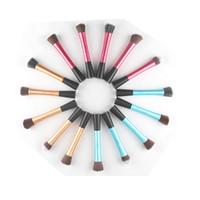 bag fibers - Newest makeup brush cm Professional make up tool set Aluminum tubes Artificial fibers high quality Opp bag packaging