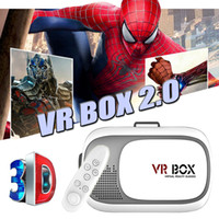 Wholesale VR Box Generation Bluetooth Gamepad Virtual Reality D Glasses Helmet VR BOX Headset For Smartphones inch inch With Retail Box