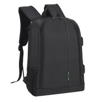 big laptop case - New Polyester Material Outdoor Waterproof Multifunctional DSLR Camera Backpack With Big Laptop Pocket and Tripod Hanging Belt