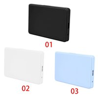backup drive - 3 color quot USB SATA HD Box HDD Hard Drive External Enclosure Case Support Up to TB Data transfer backup tool For PC