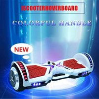 Wholesale HOVERBOARD UL APPROVED WITH HANDLE AND LIGHTS CHEAP SELF BALANCING SCOOTER