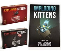 Wholesale Exploding kitten Original NSFW Edition and NEW imploding kittens this is first expansion of exploding kitten