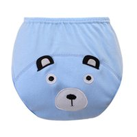 baby pull ups - Cartoon Toddler Baby Kid Cotton Cloth Waterproof Pull On Up Potty Training Pants Baby Nappies Diaper Trousers