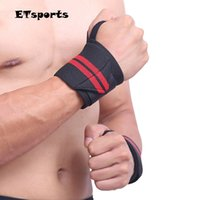 Wholesale Aolikes Sports Wrist Support Strength Strap Wraps Wristband Weightlifting Fitness Training Horizontal Bar Bracers Average Size A