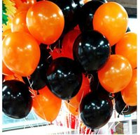 Wholesale happy halloween balloon holiday supplies decorations festival