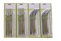 Wholesale YETI stainless steel drinking STRAWS With Cleaning Brush Set Retail Packing Kit for oz oz Yeti Rambler Tumbler Cups