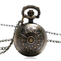 ball web - Spider Web Ball Necklace Pendant Pocket Watch Chain Womens Lady Gift P65