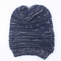 Wholesale Double color multi layer fold qiu dong Warm heap heap hat knitting hat in winter