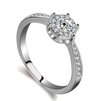 Wholesale Kepler Z07 The Silver wedding diamond ring new style romantic Jewelry High grade