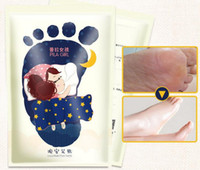 Foot Baths beauty therapy bath - EOACK PILATEN Feet Care Bamboo Vinegar Detox Beauty Feet Mask Detox Foot Pads pairs Box Chinese HERBAL Therapy