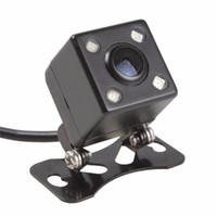 Wholesale Hottong HD CCD LED Night Vision Wide Angle Universal Car Rearview Camera Reverse Backup Parking Camera