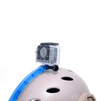 arm photos - Camera Helmet Extension Arm Self Photo Curved Adhesive Mount for Gopross Heros Helmet Mount for Gopros