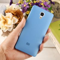 awesome skins - AWESOME PRICE mm Ultra Thin Slim soft plastic Case Cover for Xiaomi xiao MI M4 Mi4 MI4 Case protector skin back mobile