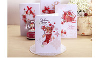 Wholesale Christmas New Year greeting card Chinese Silk art festival card European style exquisite Christmas greeting card Various styles and pattern
