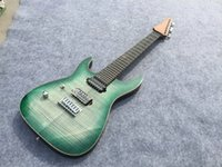 best guitar parts - Best Selling electric guitar green burst left hand chrome parts string ebony fingerboard