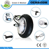 Wholesale Brushless Gear Motorized Hub Motor quot V W W W W Wheel Motor Kit Electric Scooter Electric Bicycle Conversion Kit