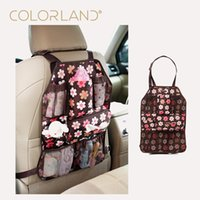 backpack car seat - COLORLAND x37cm Baby Car Seat travel Bag Back hanging bags Organizer Holder tissue pocket insulated bottle Storage diaper bags