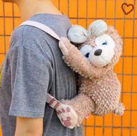 anime tote bags - Anime Cartoon KAWAI Duffy bear Shelliemay sundries backpacks stereo bag Embroidery Tote stuffed plush toy doll best gift