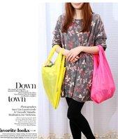 baggu canvas - Canvas bag Medium size Women Lady Easy To Carry Folding Shopping Bags BAGGU Storage Grocery Hand Clutch Bag