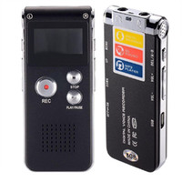 Wholesale Bagent GB Digital Audio Voice Recorder Dictaphone MP3 Player with Mini Usb Port Built In Speaker Dual Microphone Black