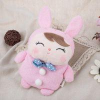 animal shaped sweets - Cute Sweet Multifunctional Stuffed Cartoon Animal Design Change Purse for Girls Unisex Rabbit Shape Change Purse Baby Doll Toy