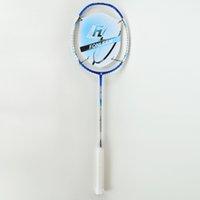 Wholesale SPACE CARBON5D Blue Badminton Rackets SPACE CARBON5D Blue Lbs U Graphite Carbon Offensive Type G4 Super Soft Badminton Rackets
