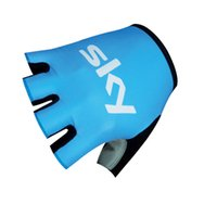 Wholesale SKY Pro Team Brand Mountain MTB Cycle Bike Sports Gloves Breathable Racing Bicycle ropa ciclismo Cycling Gloves