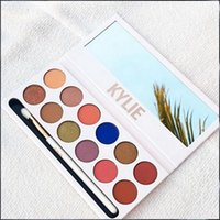 Wholesale NEW Kylie Jenners The Royal Peach Eyeshadow Palette Kylie colors Kyshadow Kylie Cosmetics Eye shadow Palette Pc