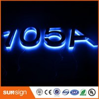 Wholesale LED House Numbers and letters Apartment LED Numbers