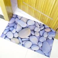 Wholesale Rubber Door Mat D Chic Home Rug Baby Foot Area Rug Carpet Bathroom Anti slip Floor Mat