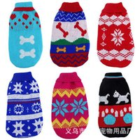 aa female - New Dog Apparel Heart Christmas Big Dot Sweater Dogs Claus Apparel Gift AA SO