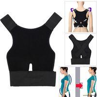 Wholesale Men s Women s Adjustable Breathable Posture Correction Belt Posture Support In Stock Fast Ship