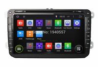Reproductor de DVD de vídeo de radio de coche Android 5.1 de Quad Core para VW Magotan Passat Sagitar Tiguan Touran Golf Jetta CC Caddy Skoda Seat Polo DVD de coche