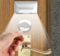 Wholesale HumanDoors Enclosure Cabinet Light Infrared Sensor Light Color Silver White Infrared sensor V quot AA quot Lr06