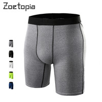 basketball boxers - Men Breathable Quick Dry Underwear Tights Gym Fitness Running Boxers Football Soccer Skinny Sport Training Basketball Shorts