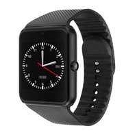 Wholesale GT08 Bluetooth Smart Watch Smartwatches quot IPS Display with SIM Card G Camera for Android Samsung and iOS iphone Smartphone Smartwatch