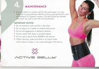 Wholesale Weight LossOfficial ACTIVE BELLY Professional Thin Waist Aerobic Training Lab Stimulates Blood Flow Pressure Sport Slimming Belt