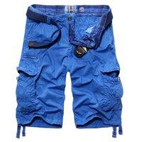 arrival cargo shorts - new arrivals fashion summer men cargo shorts multi pocket camouflage overalls moletom masculino ACL142