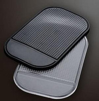 Wholesale 1000 DHL Rubber Magic Non Anti Slip Mat Strong Sticky Pad for Car Novel Car Accessories Anti slip PU Ma
