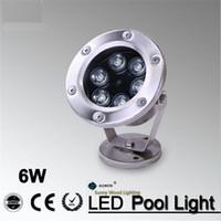 ac pools - IP68 LED fountain light pool light underwater light piscina light forswimming pool landscape spot lamp6W V AC