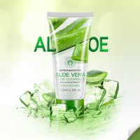 Wholesale BIOAQUA Aloe Moisturizing Repair Face Cleanser Deep cleansing moisturizing oil free acne removal face cleanser