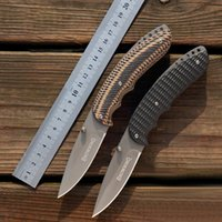 best blade material - Best Quality Folding Knife For Camping Blade Color Titanium Plating Handle Material G10 Steel BLN FY
