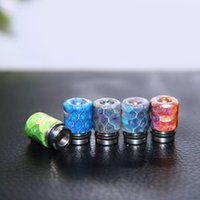 bear connection - Smok TFV8 Rda TFV4 atomizer mouthpiece high quality newest connection honeycomb resin drip tips stainsteel wide bore mouthpiece