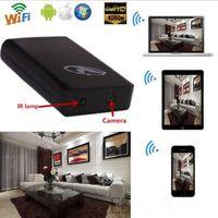 Wholesale 1080P WIFI SPY HD Hidden Camera Mobile Power Bank Night Vision VideoRecorder Cam