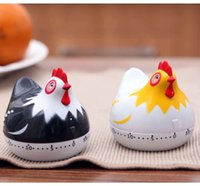 animal kitchen timers - Lovely modelling hen kitchen timer timer cartoon animals mechanical alarm clock to remind the timer