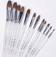 Wholesale Grind arenaceous pens a round feng LangHao gouache brush pen suits Oil paints